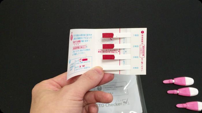 STDチェッカーによるエイズ検査